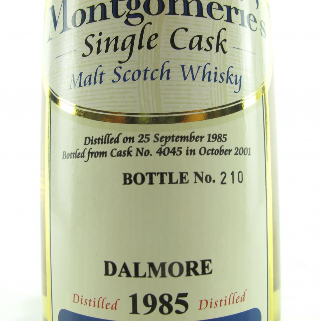 Dalmore 1985 Montgomerie's Single Cask