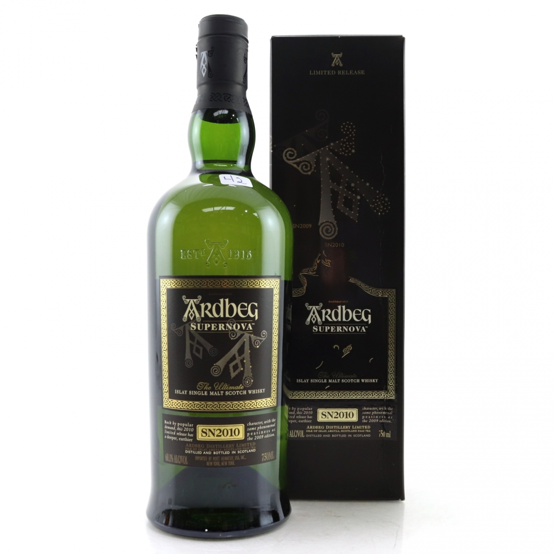 Ardbeg Supernova SN2010 75cl / US Import