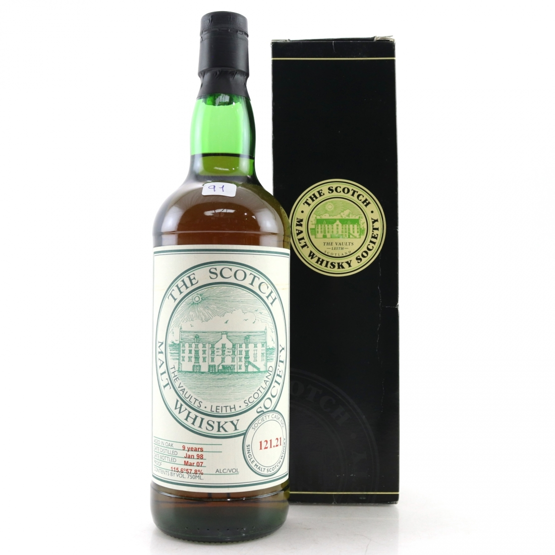 Arran 1998 SMWS 9 Year Old 121.21 75cl / US Import