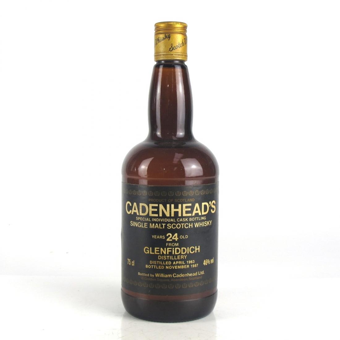 Glenfiddich 1963 Cadenhead's 24 Year Old