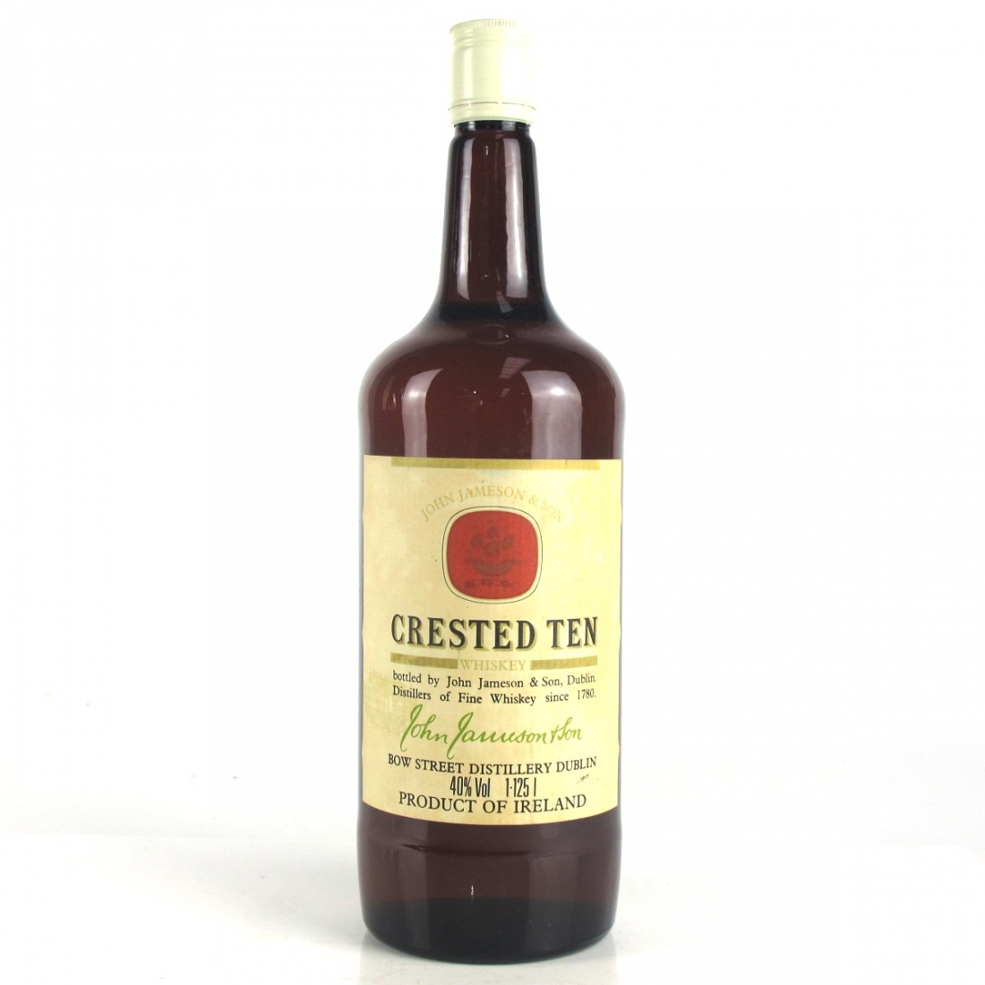 Jameson Crested Ten 1980s 1.125L
