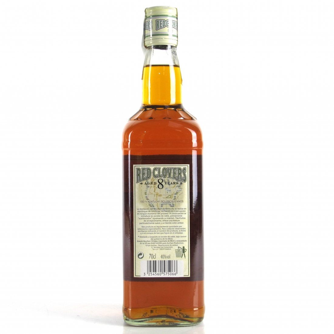 Red Clovers 8 Year Old Kentucky Bourbon Straight Whiskey