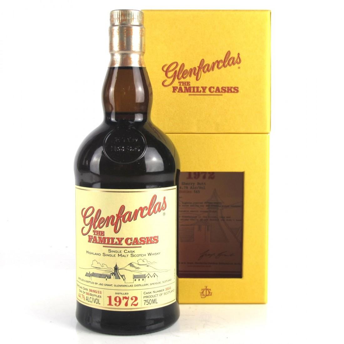 Glenfarclas 1972 Family Cask #3551 75cl / US Import