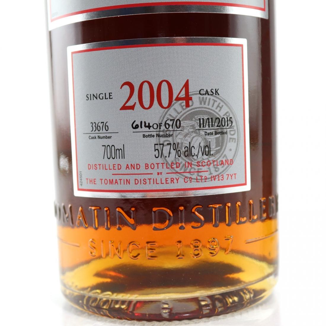 Tomatin 2004 Single Cask #33676 / Oloroso Finish