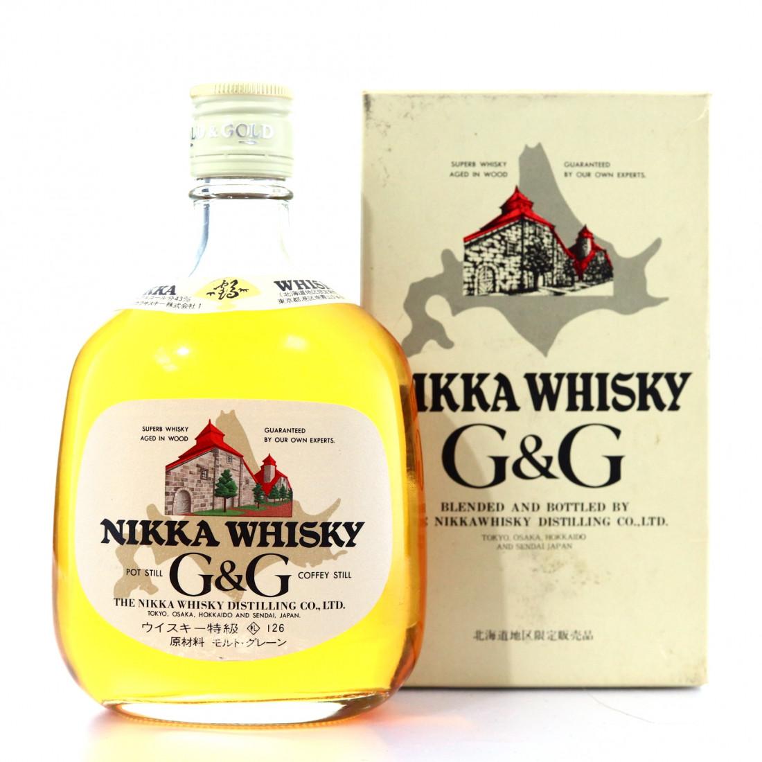 Nikka G&G 38cl
