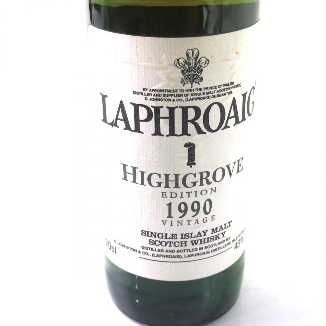 Laphroaig 1990 Highgrove