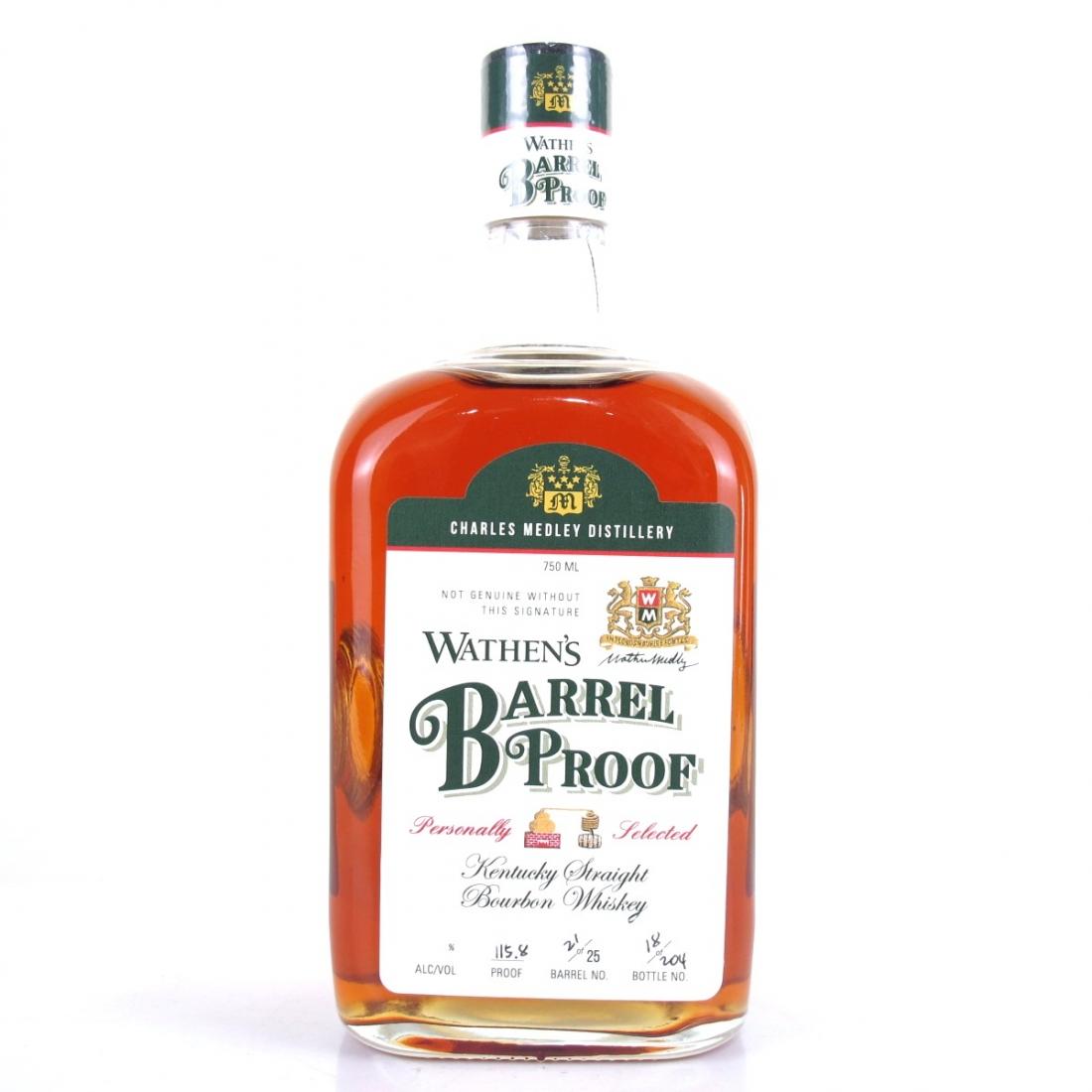 Wathen's Barrel Proof Kentucky Bourbon Astor's Wine and Spirits Exclusive