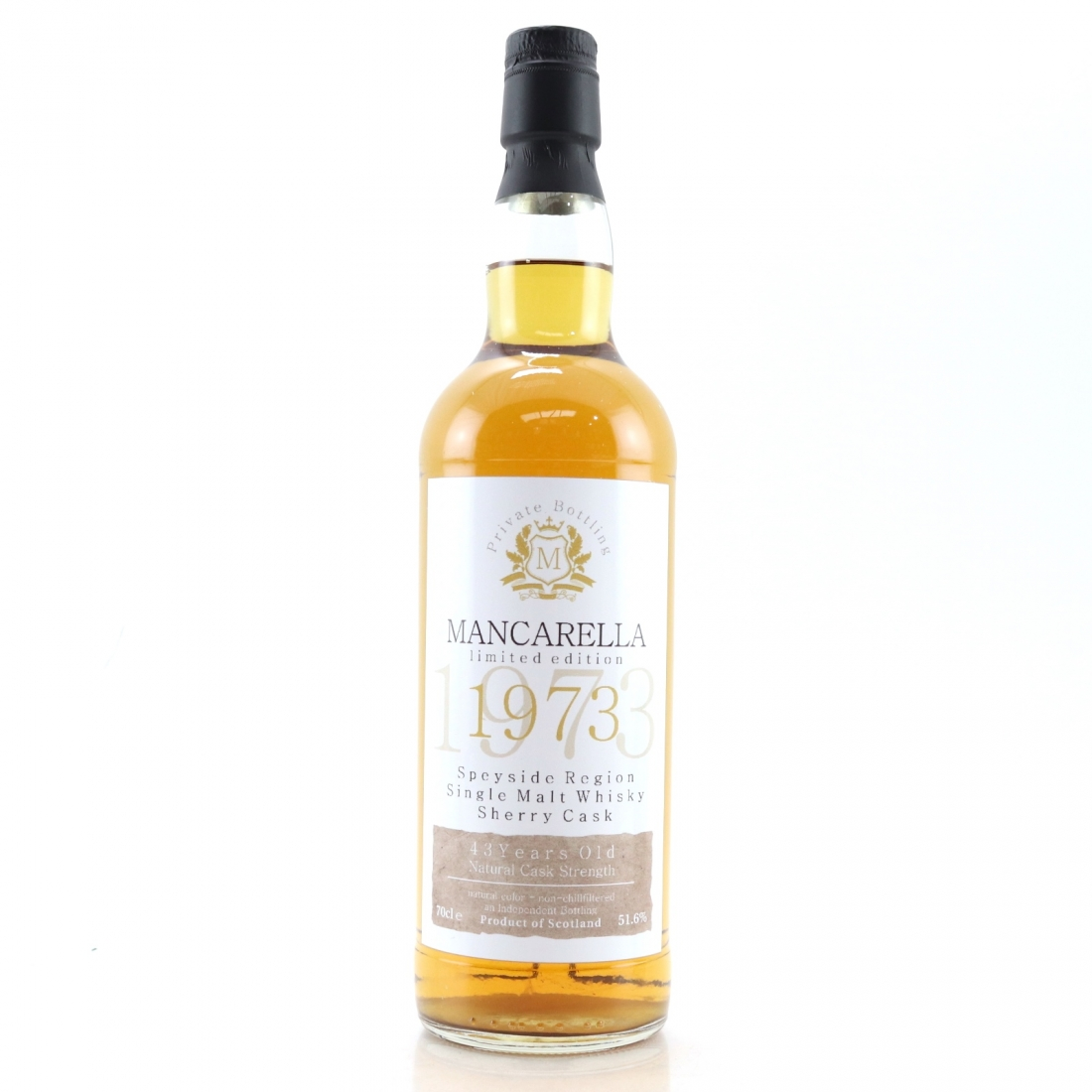 Speyside Single Malt 1973 Mancarella 43 Year Old