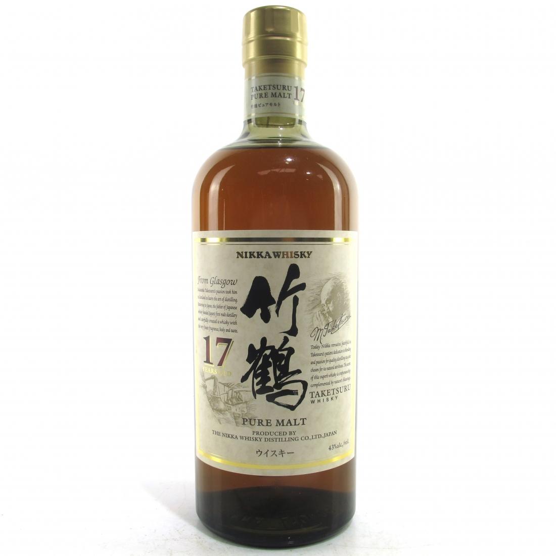 Taketsuru 17 Year Old Pure Malt 75cl / US Import