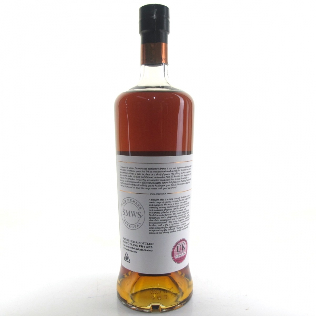 Exotic Cargo 2006 SMWS 10 Year Old Blended Batch 01