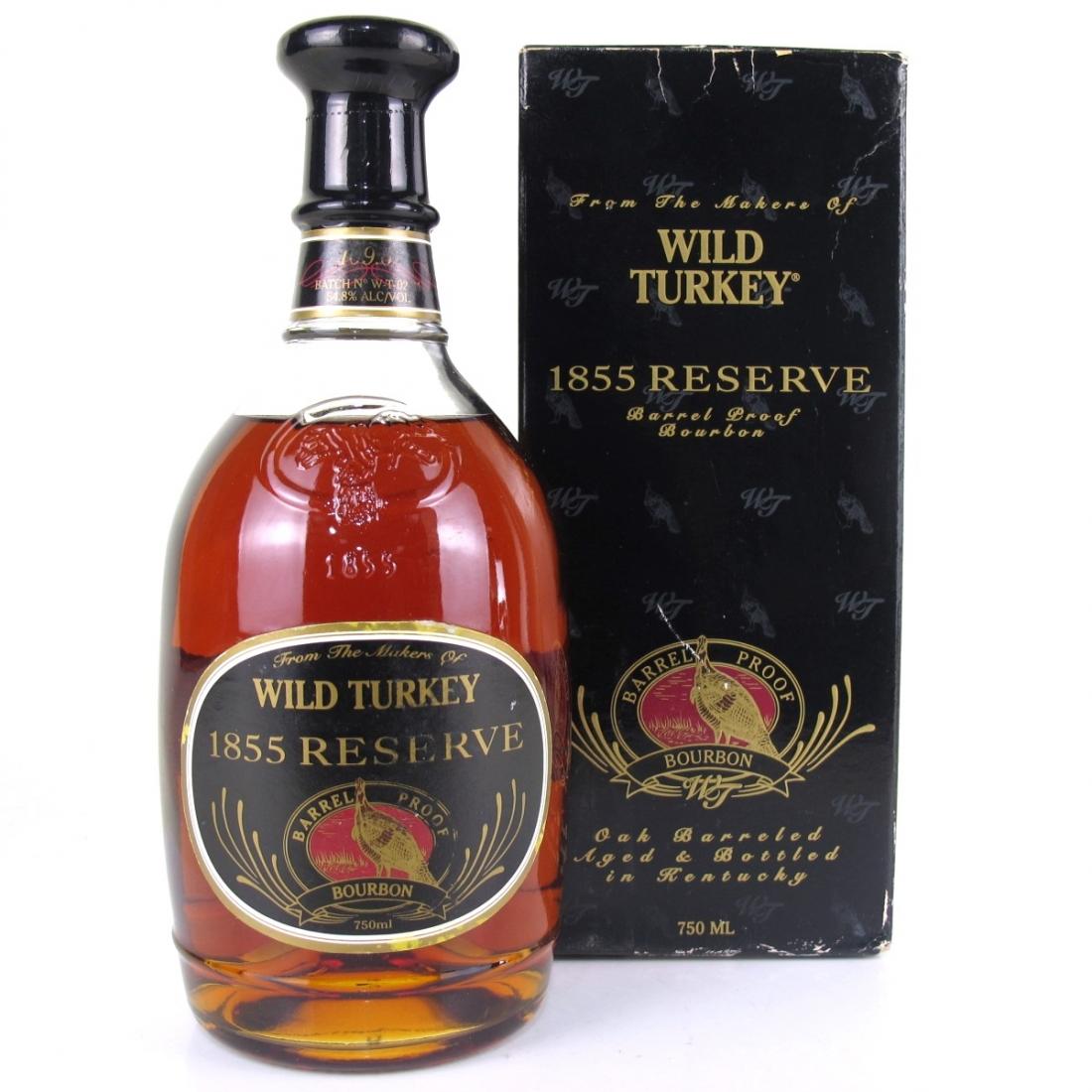 Wild Turkey 1855 Reserve 1980s