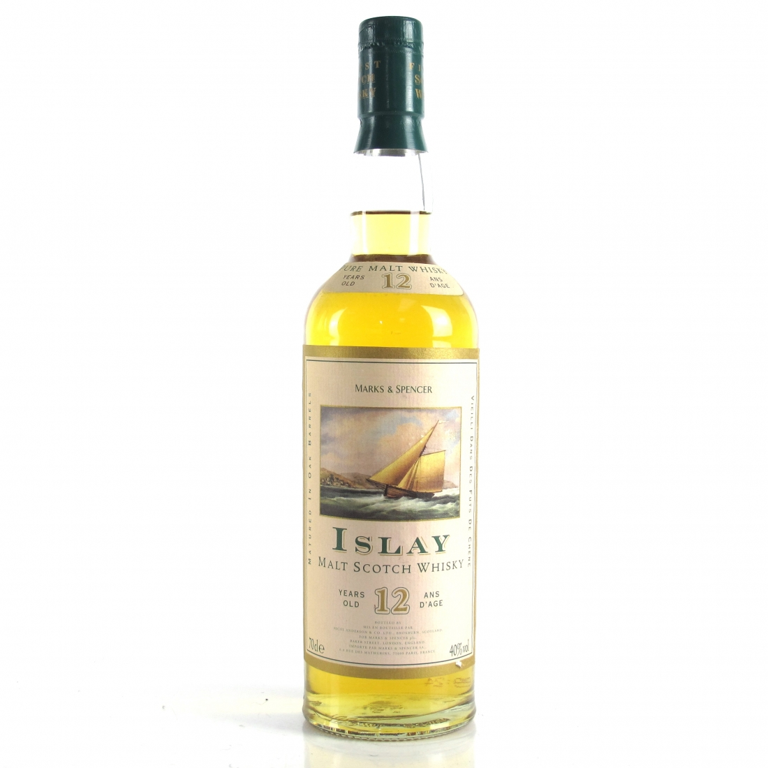 Marks and Spencer Islay 12 Year Old Pure Malt
