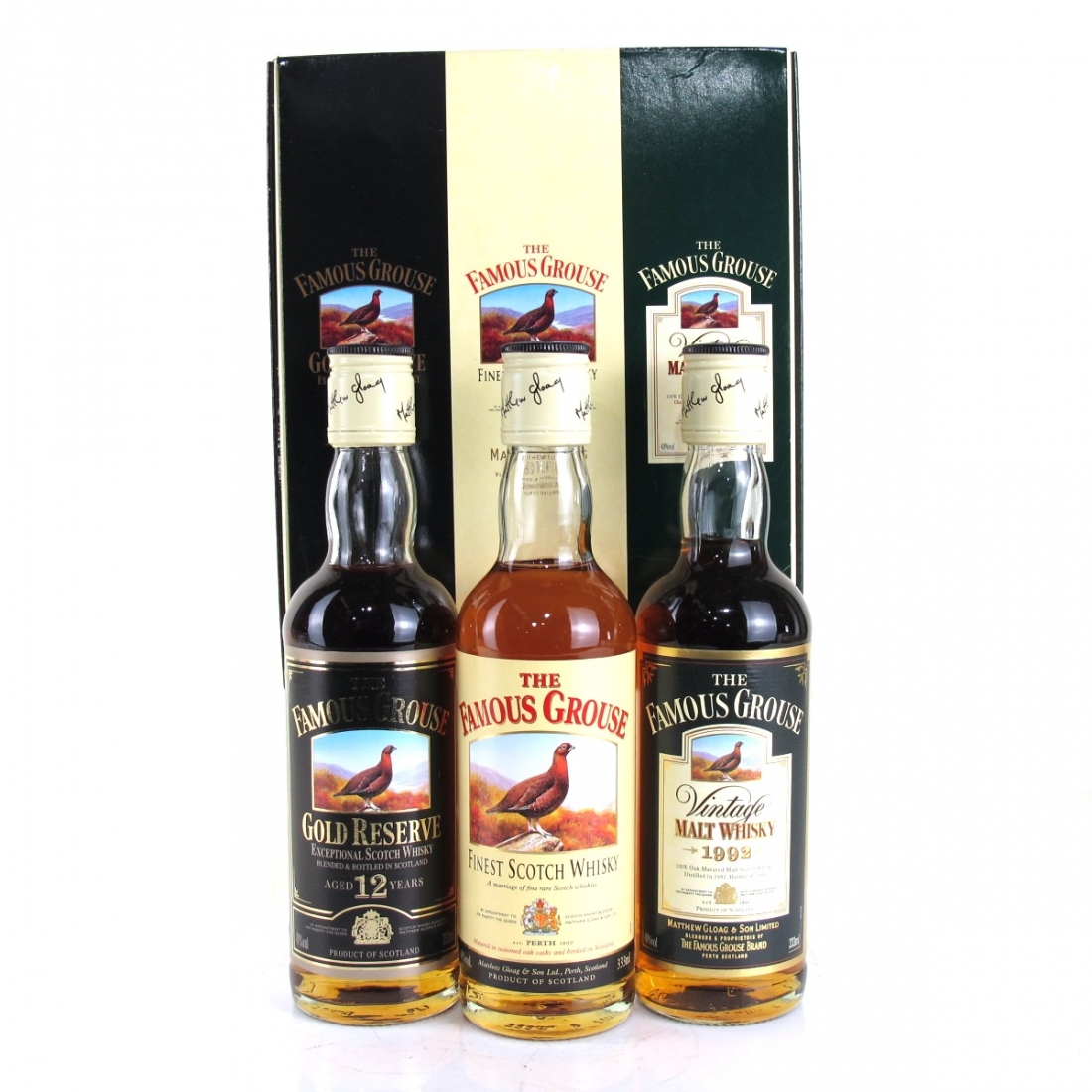 Famous Grouse Gift Pack 3 x 33cl