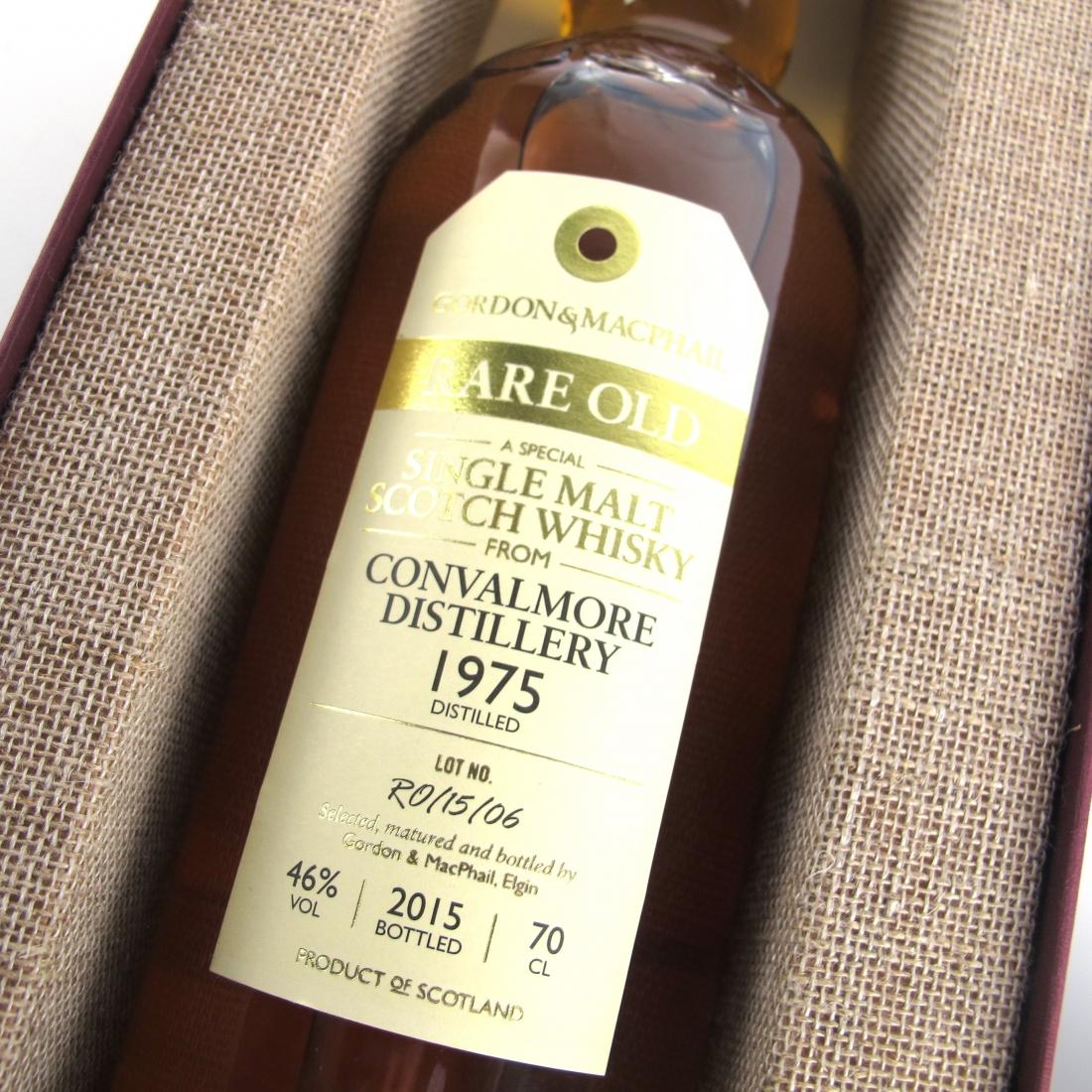 Convalmore 1975 Gordon and MacPhail Rare Old