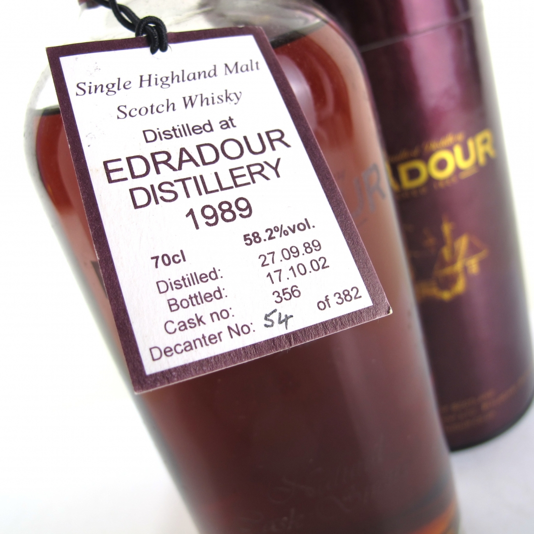 Edradour 1989 Single Cask