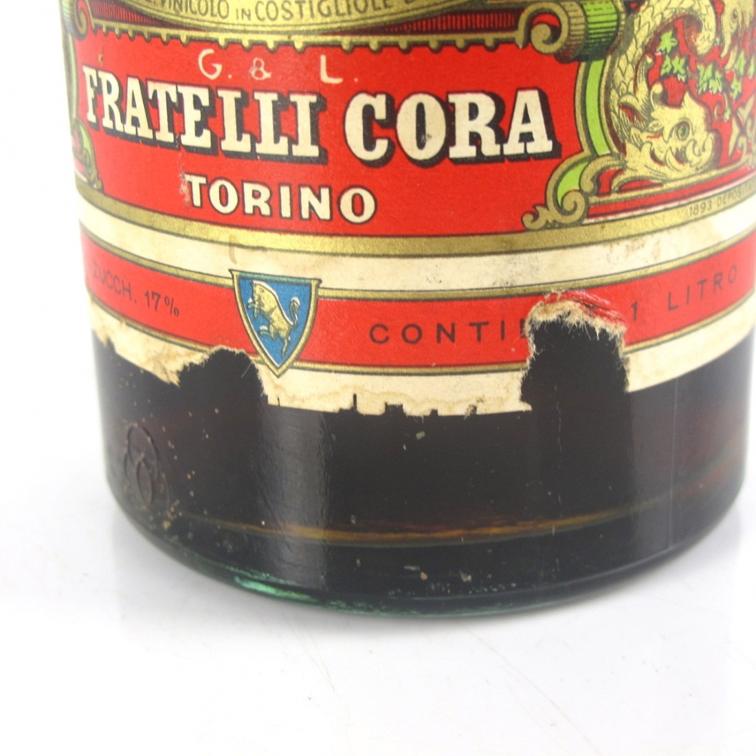 Cora Vermouth Extra 1 Litre 1960s