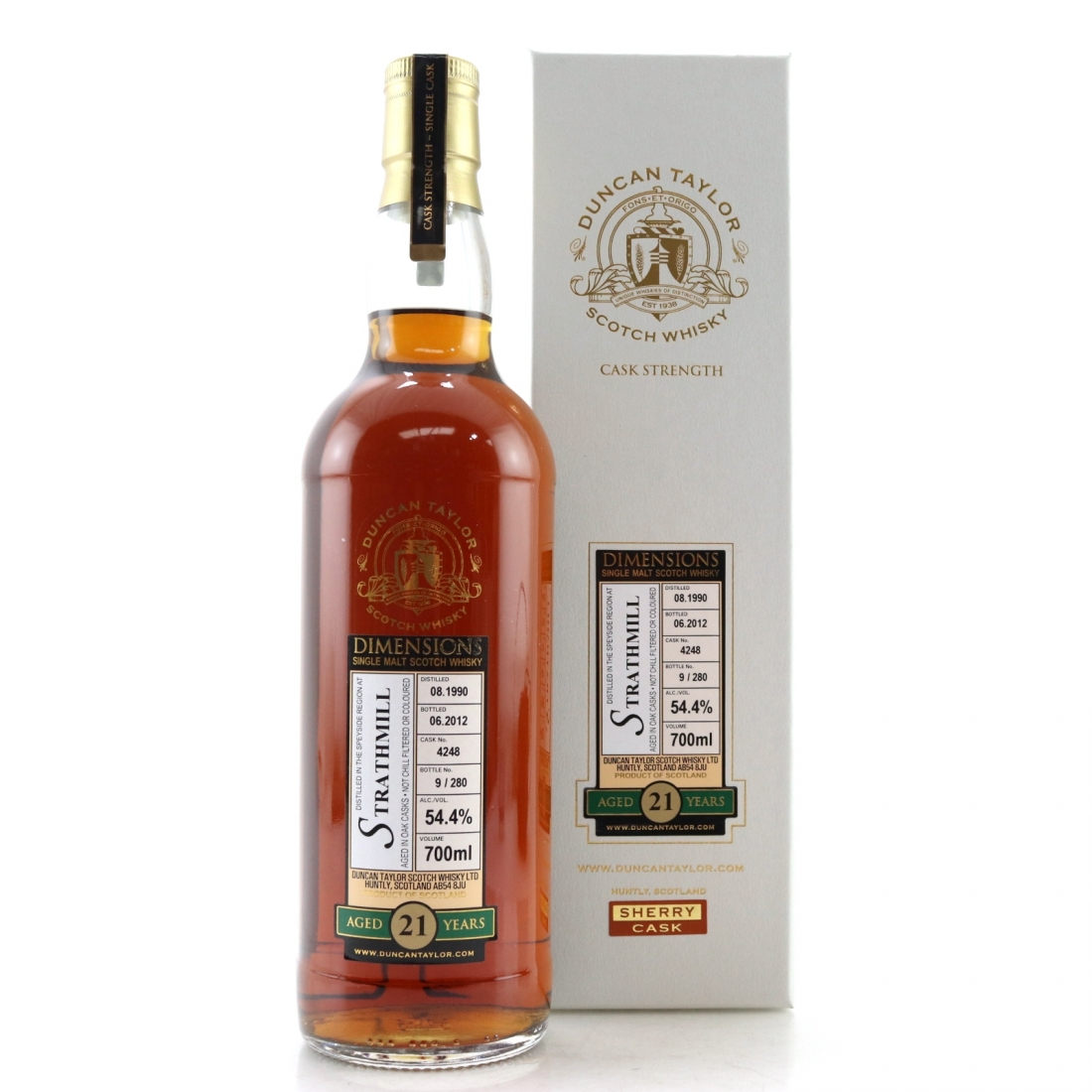 Strathmill 1990 Duncan Taylor 21 Year Old