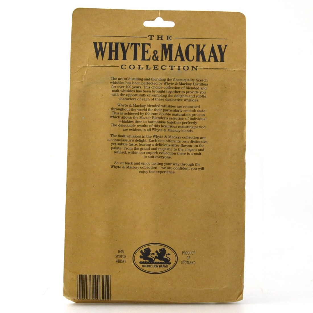 Whyte and Mackay Scotch Miniature Collection 6 x 5cl / includes Damore 12 Year Old