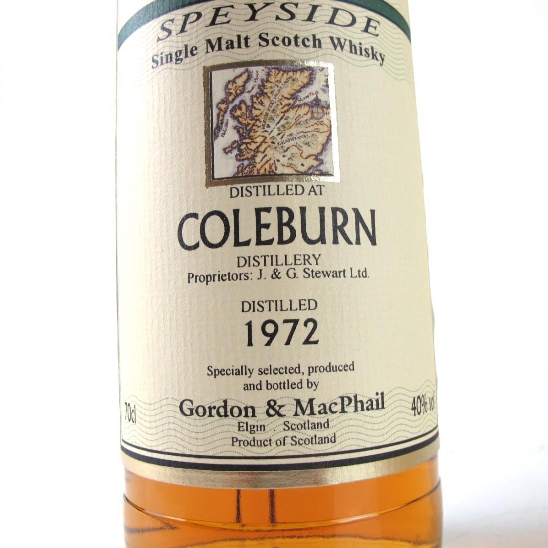 Coleburn 1972 Gordon and MacPhail
