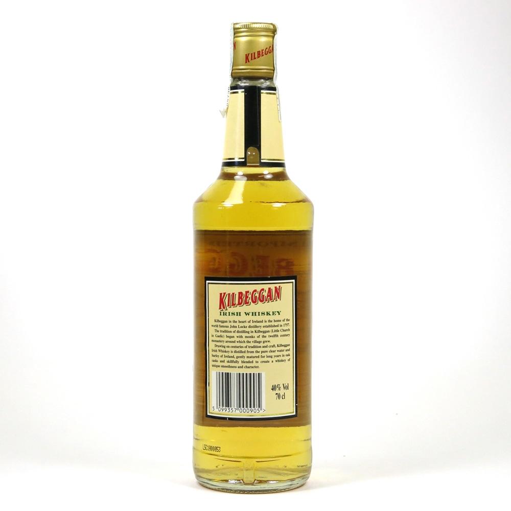 Kilbeggan Irish Whiskey Back