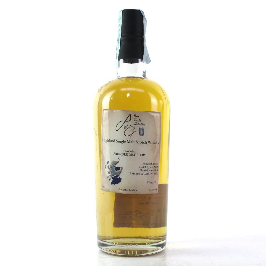 Ardmore 2009 A&G 9 Year Old / Caroni Rum Cask Finish