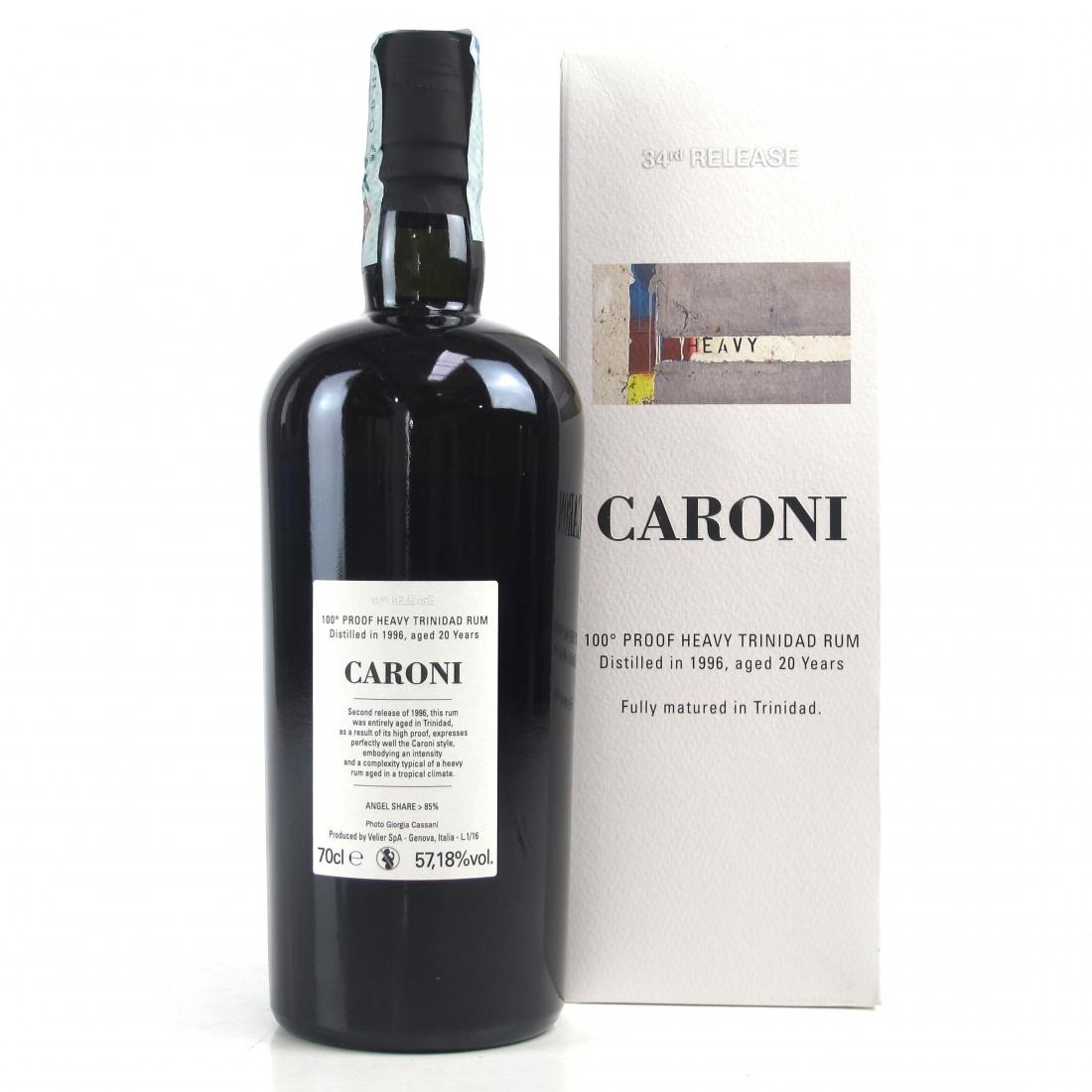 Caroni 1996 100 Proof 20 Year Old Rum