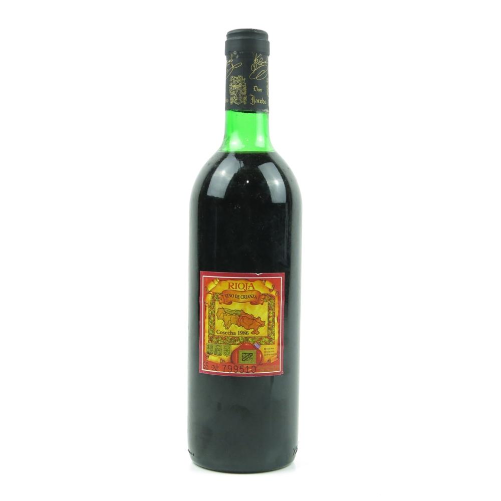Don Jacobo 1986 Rioja Crianza