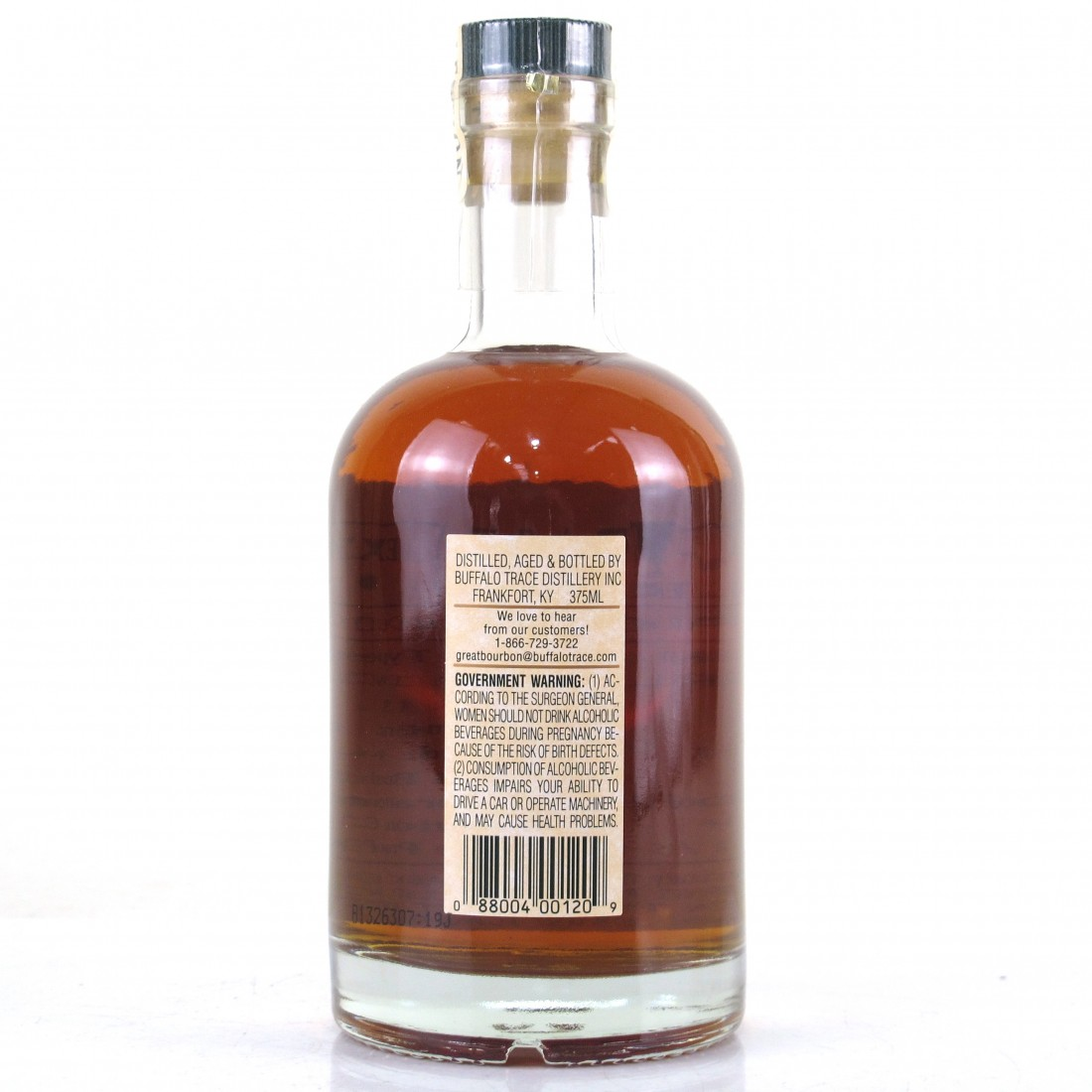 Buffalo Trace 1998 Experimental Collection 15 Year Old 37.5cl / Extended Stave Dry Time