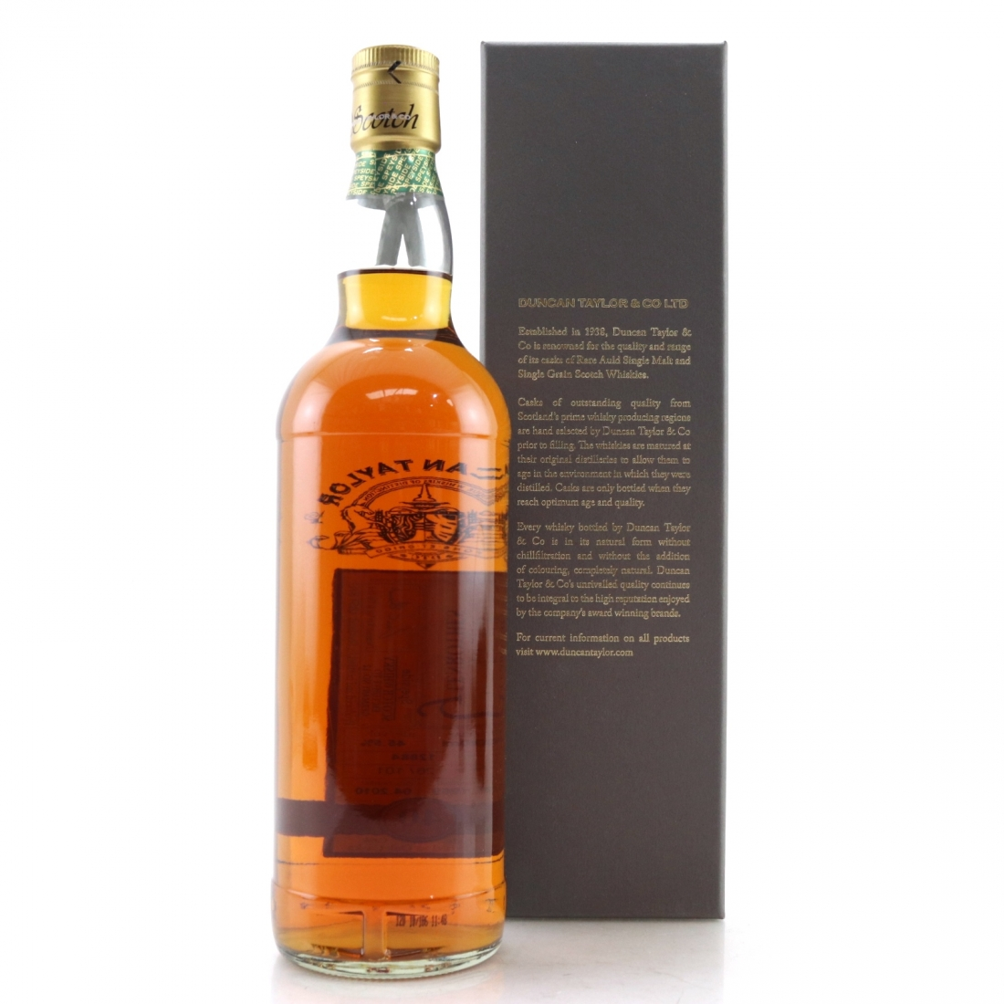 Glenrothes 1969 Duncan Taylor 40 Year Old