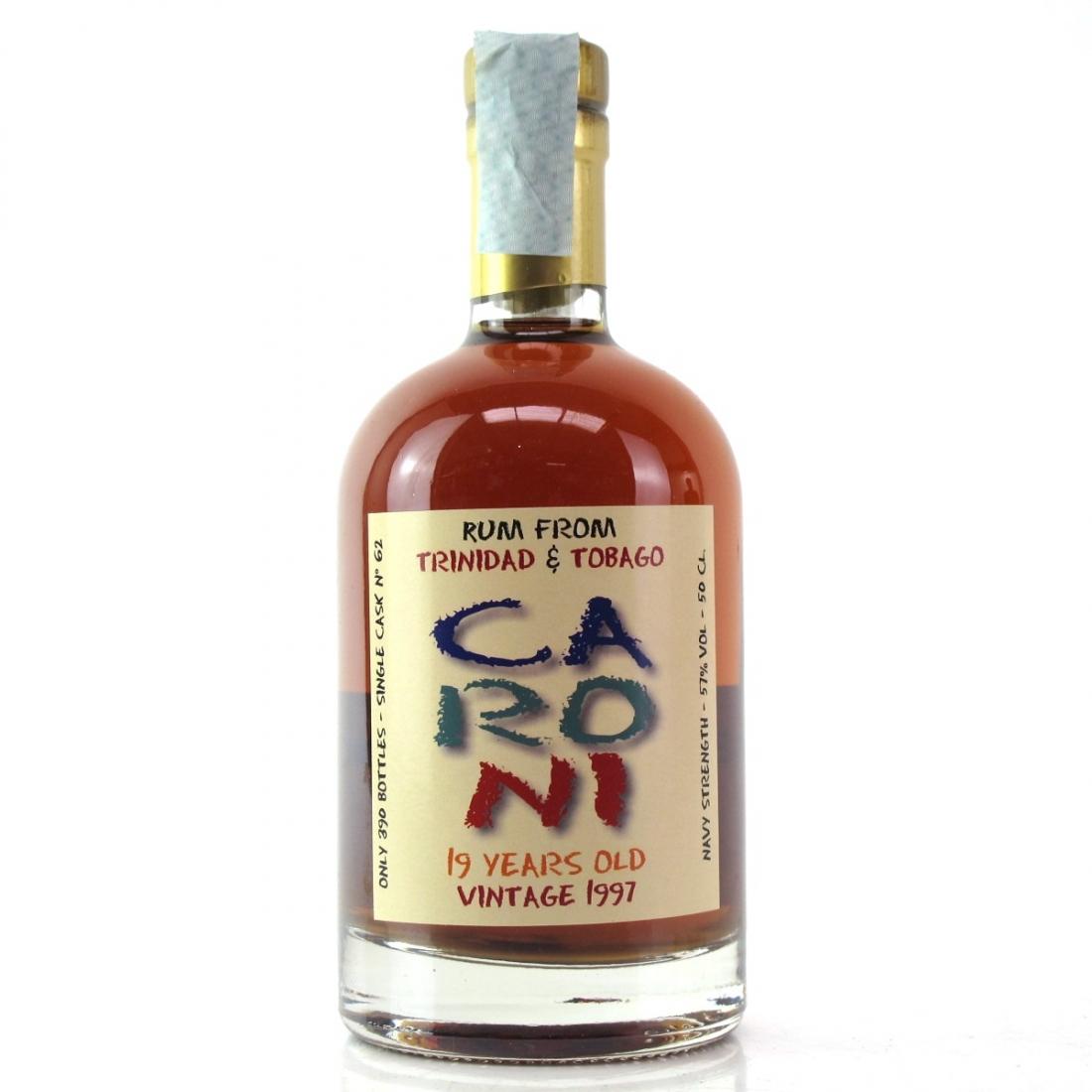 Caroni 1997 Milan Rum Festival 19 Year Old 50cl / Barmetro 50th Anniversary