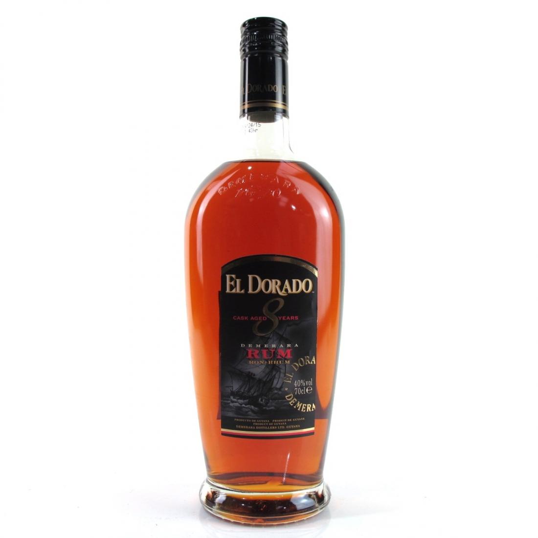 El Dorado 8 Year Old Guyanese Rum