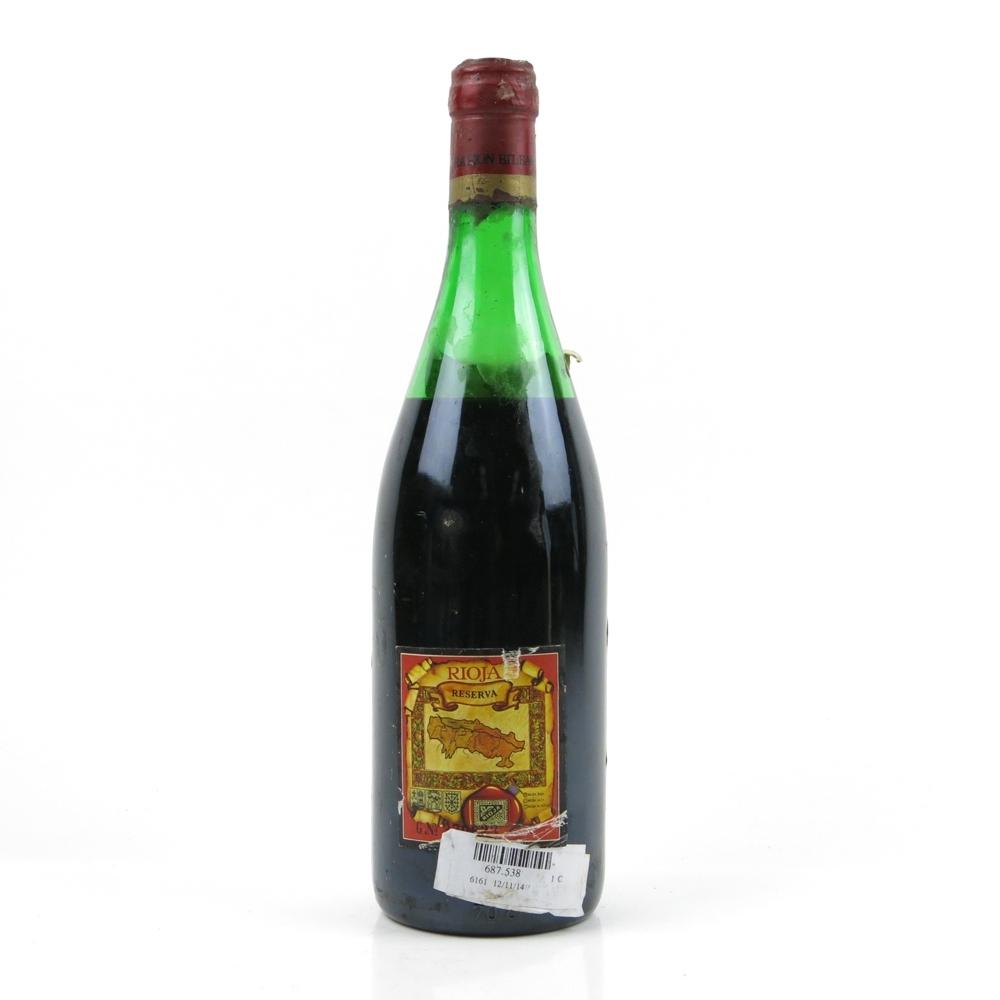 Monte Rojo 1978 Rioja Reserva