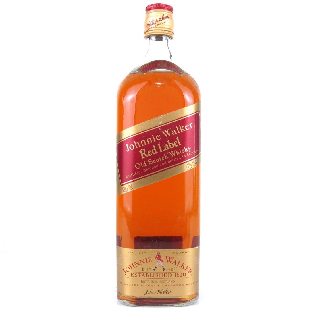 Johnnie Walker Red Label 1.125 Litre
