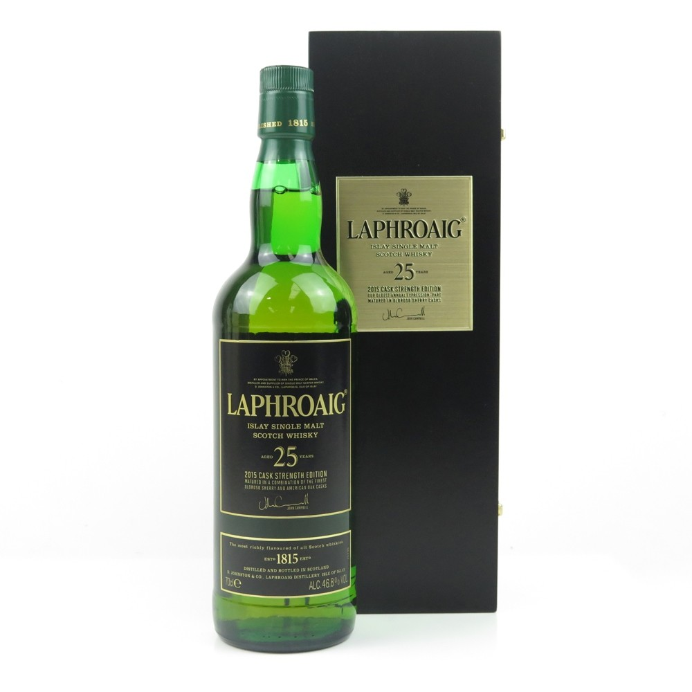 Laphroaig 25 Year Old 2015 Release