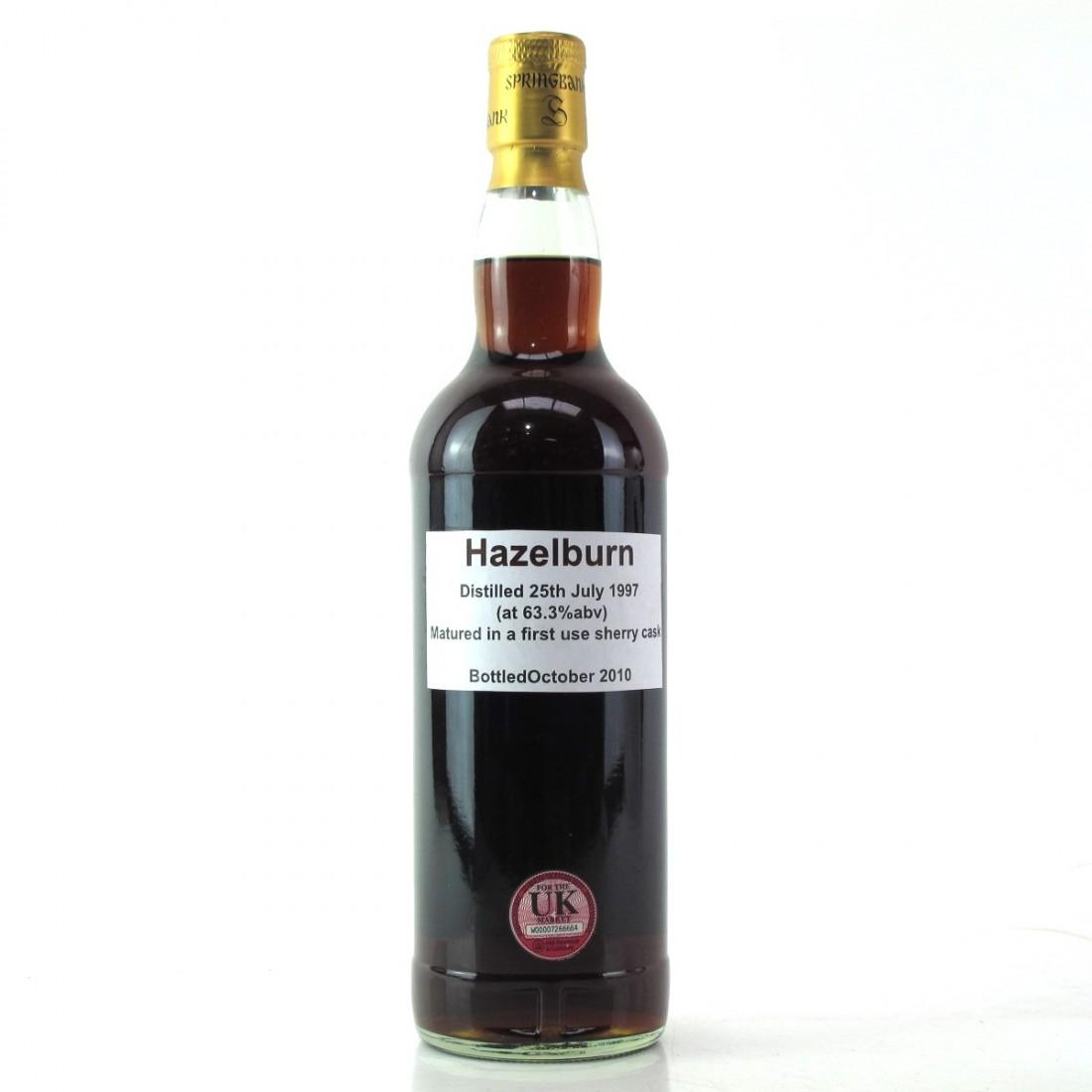 Hazelburn 1997 Single Cask / First Fill Sherry