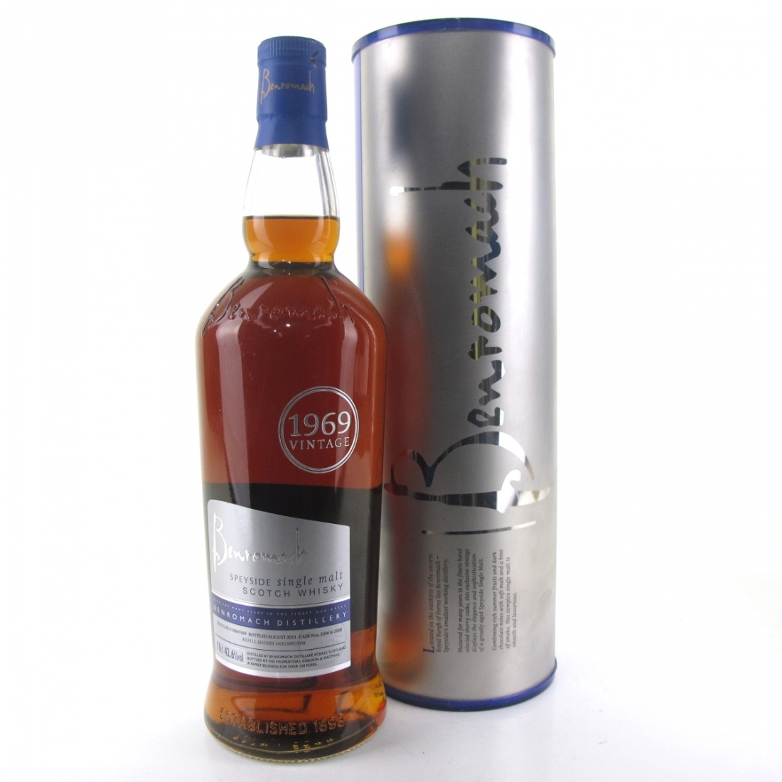 Benromach 1969 Sherry Cask