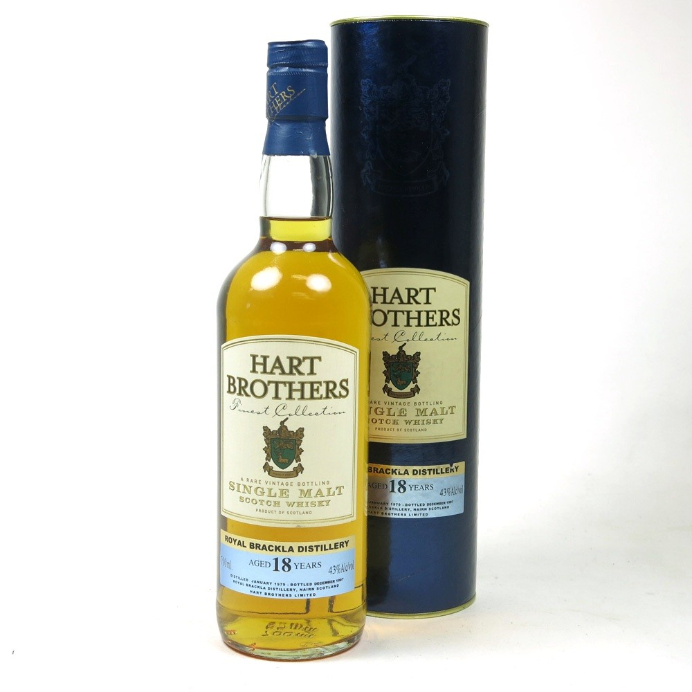 Royal Brackla 1979 Hart Brothers 18 Year Old