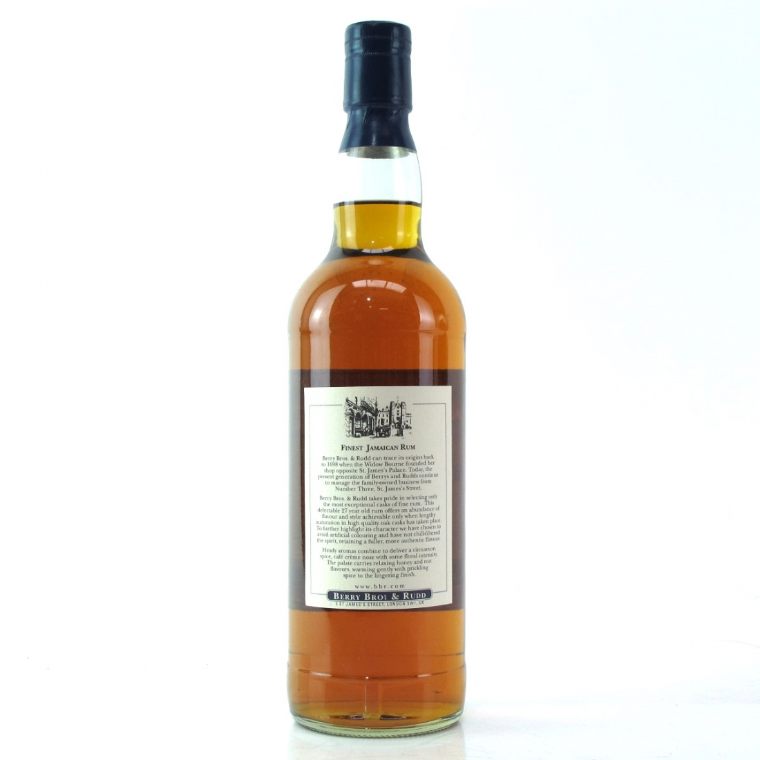 Jamaican Rum 27 Year Old Berry Brothers and Rudd