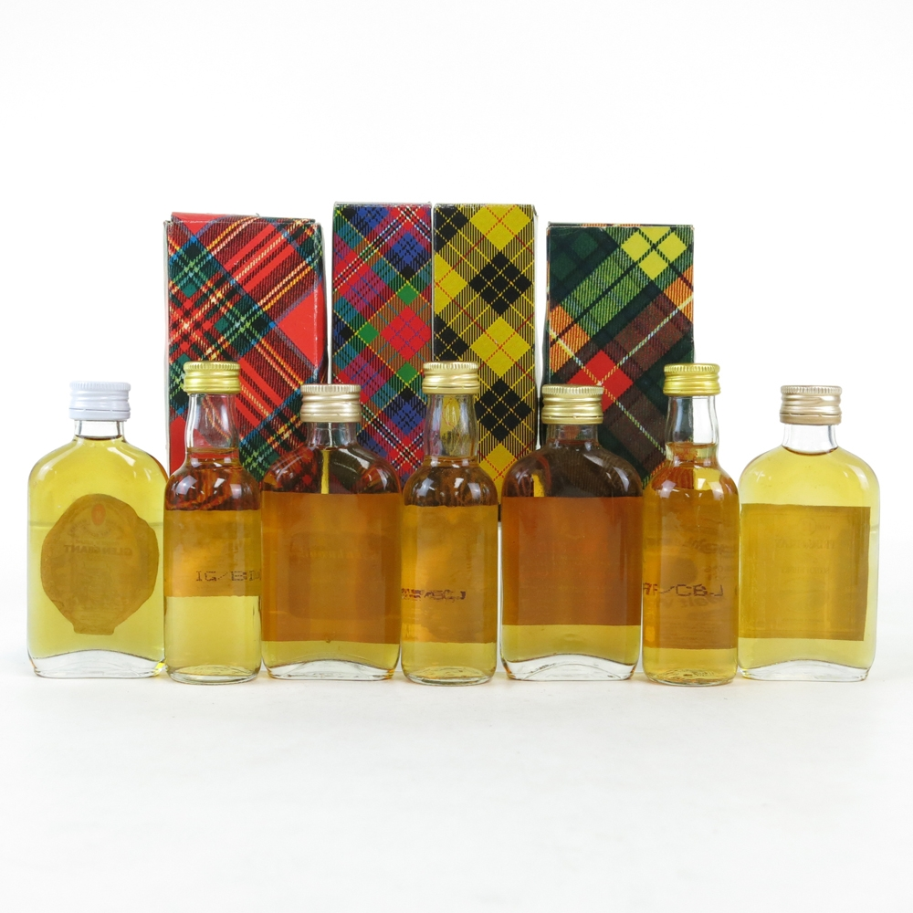 Miscellaneous Gordon and MacPhail Miniatures 7 x 5cl / including Talisker