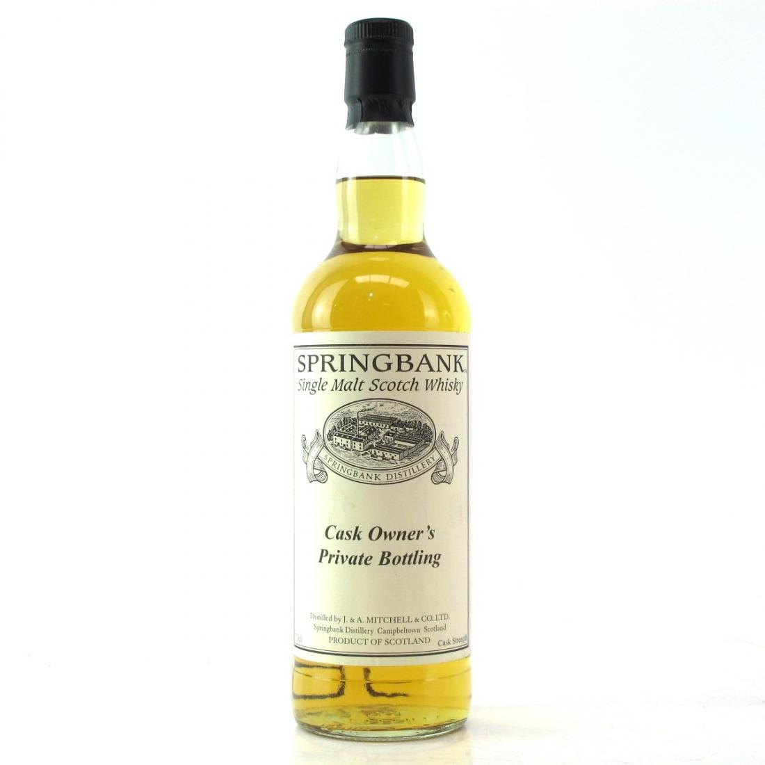 Springbank 1997 Private Cask Bottling #128 / One of 24