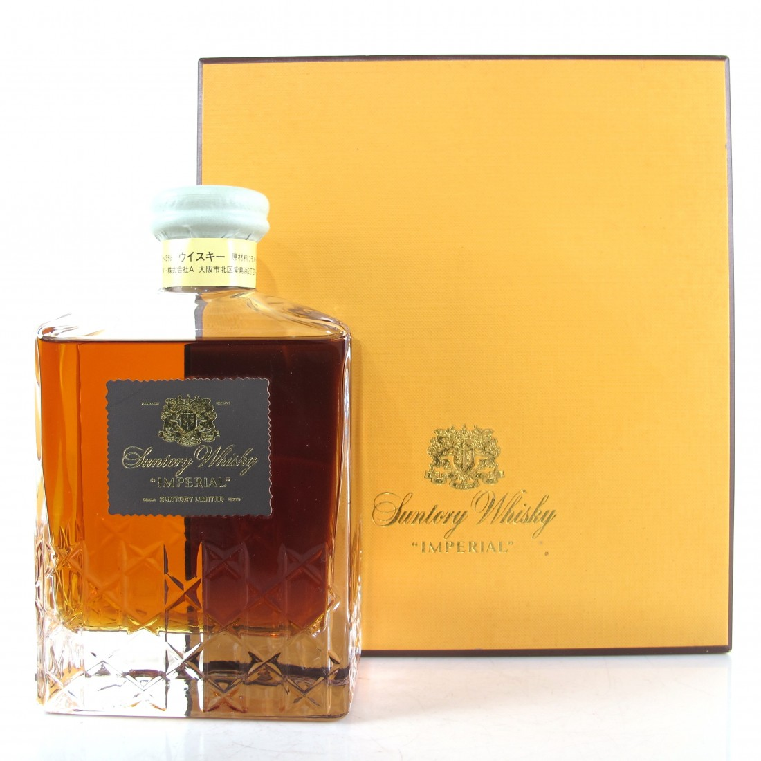 Suntory Whisky Imperial in Kagami Crystal Decanter 60cl