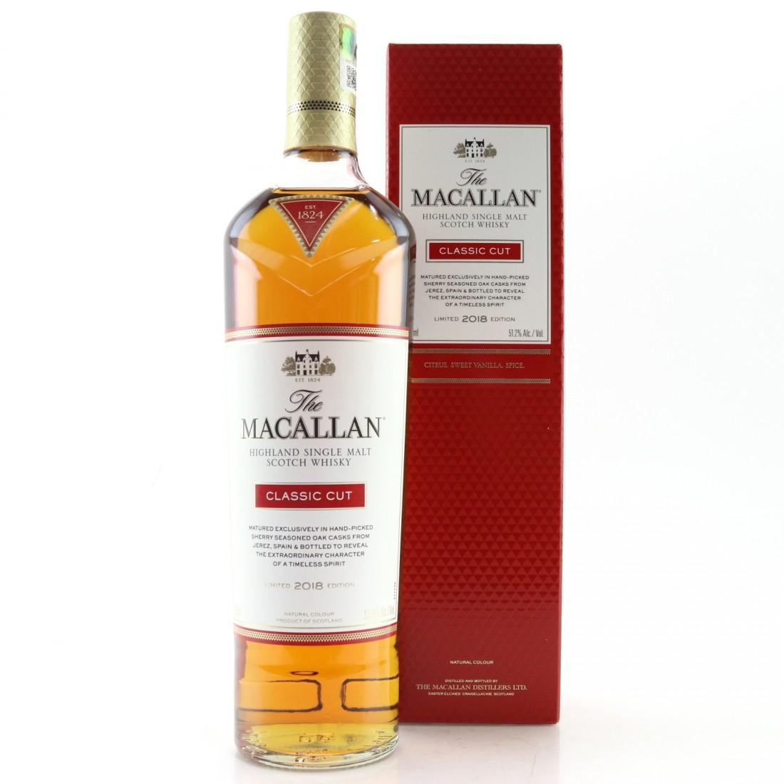 Macallan Classic Cut 2018 Release 75cl / US Import