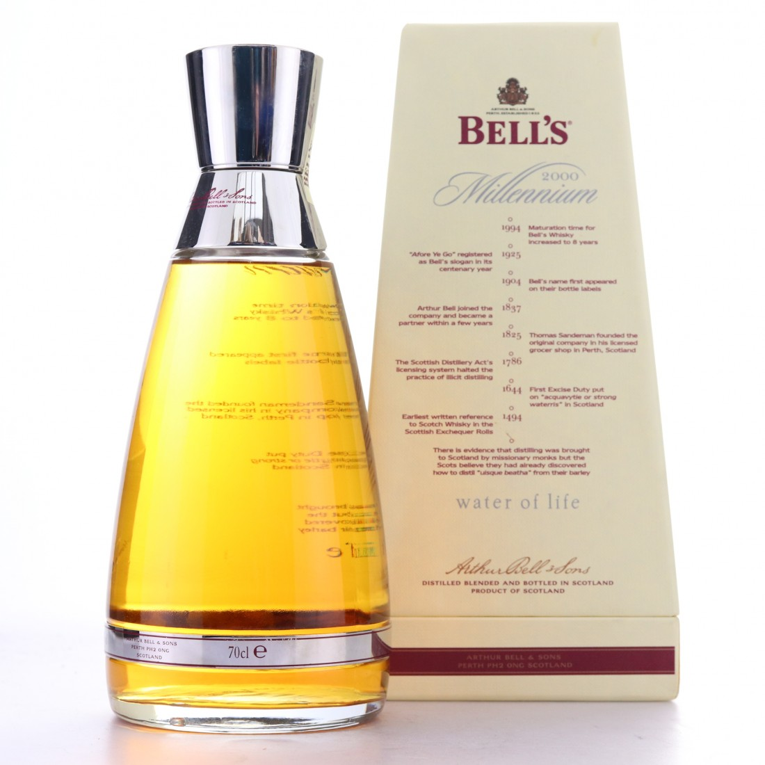 Bell's 8 Year Old Millennium Decanter