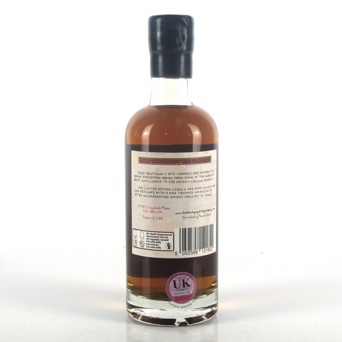 New York Distilling Co That Boutique-y Rye Company 2 Year Old Batch #1