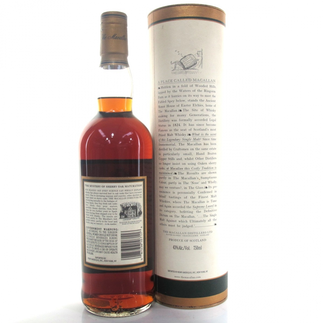 Macallan 15 Year Old 1984 75cl / US Import