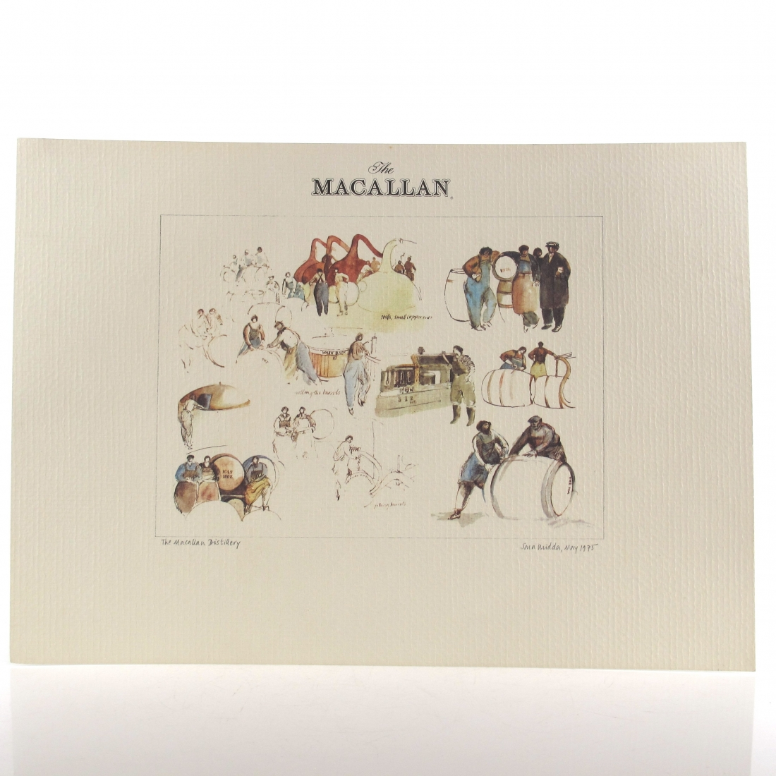 Macallan Sara Midda 1975 Watercolours Print