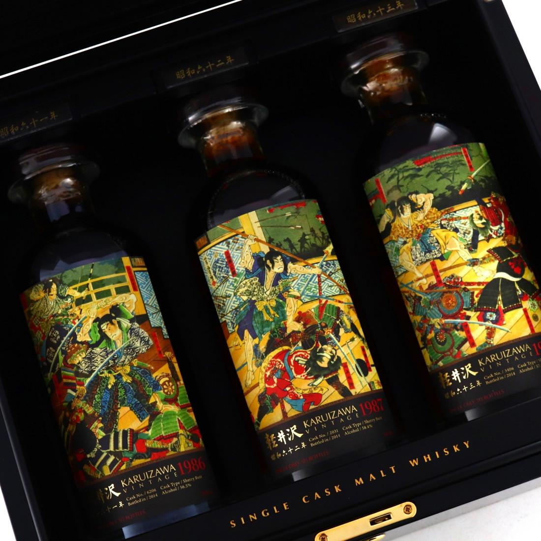 Karuizawa 1986-1988 Fight Club Collection 3 x 70cl