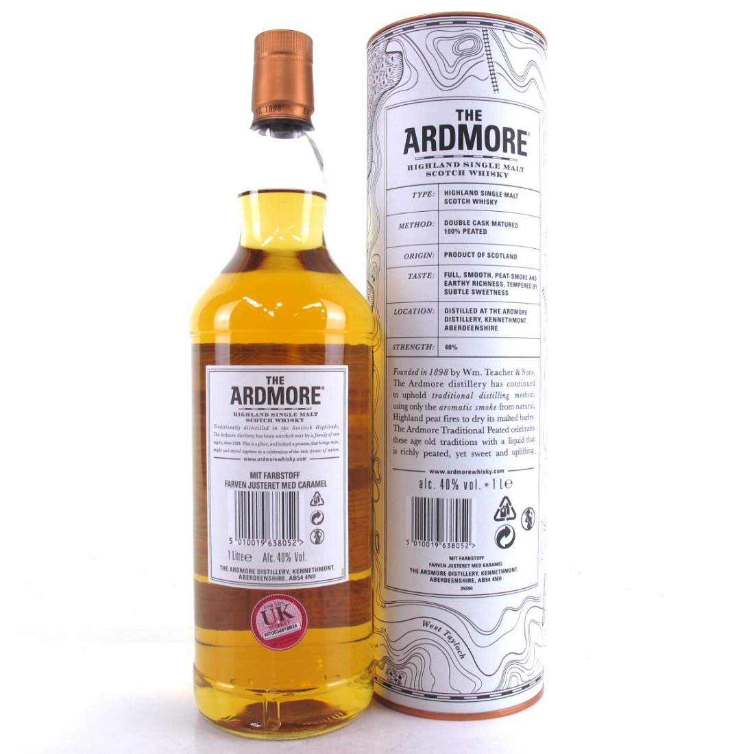 Ardmore Traditional Peated 1 Litre