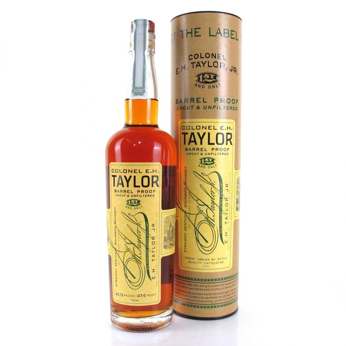 Colonel E.H Taylor Barrel Proof 2016 Release