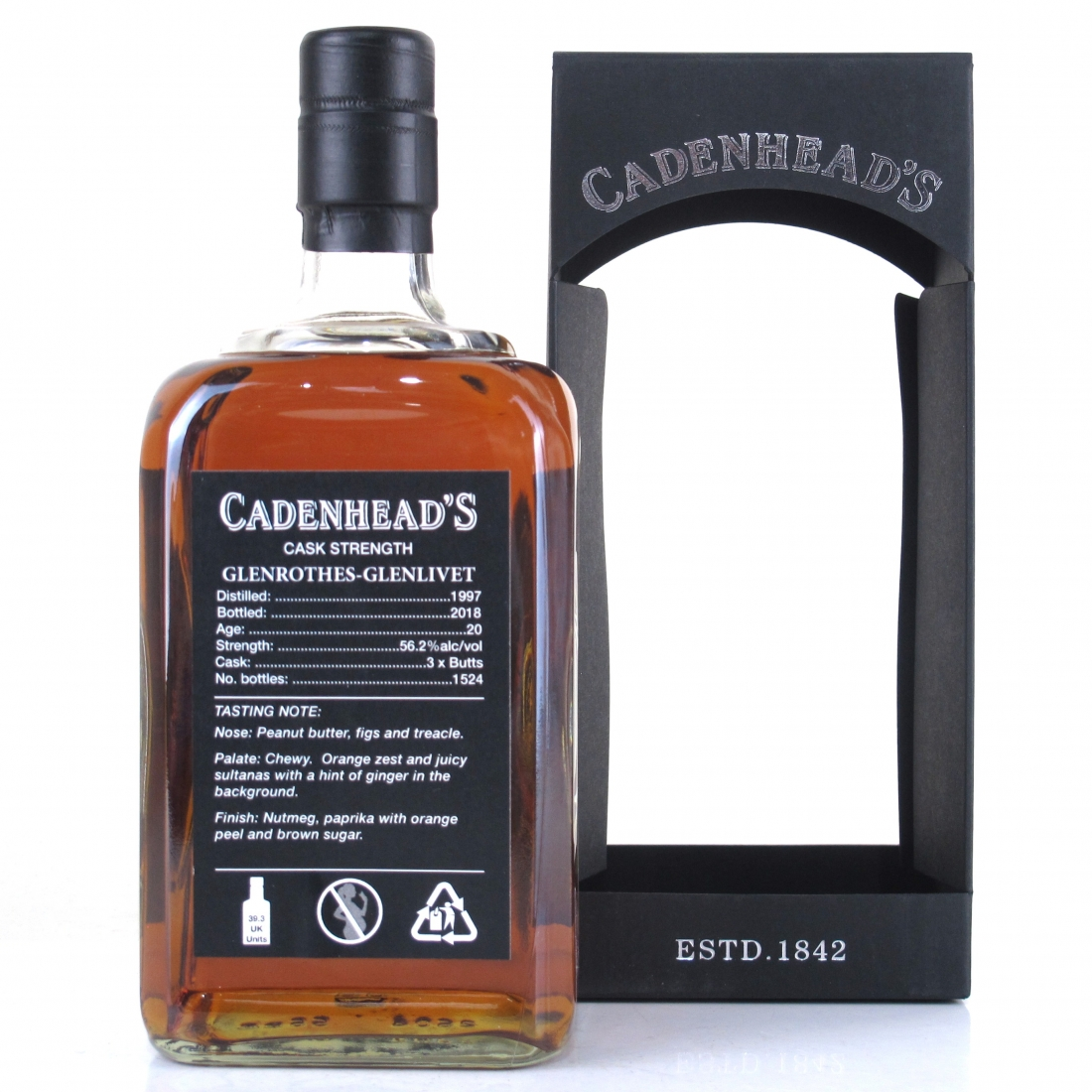 Glenrothes 1997 Cadenhead's 20 Year Old